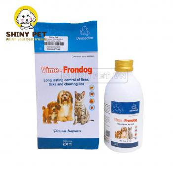 Xịt trị ve VIME-FRONT DOG 250ml